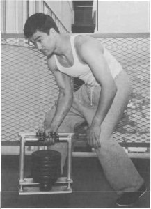 bruce lee training 2