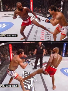 jon jones side kick 3