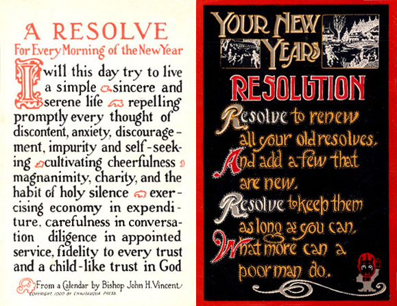Resolution postcards from 1915