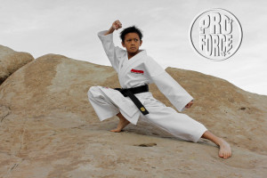 Kieran Tamondong in his Heavy Weight Pro Force Diamond Gi