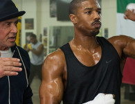Stallone and Jordan in Creed, Photo from Warner Bros.