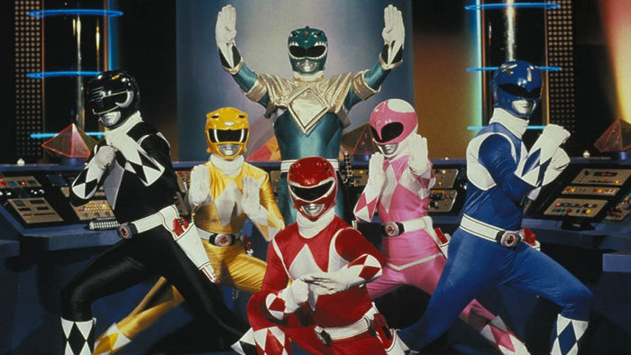 The original Power Rangers suits. Source: Shout Factory