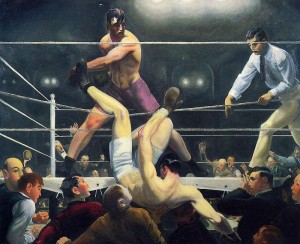 Dempsey and Firpo by George Bellows