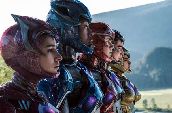 Source Power Rangers The Movie's Official Instagram