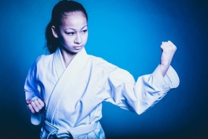 Emma Teo in our ProForce Diamond Gi