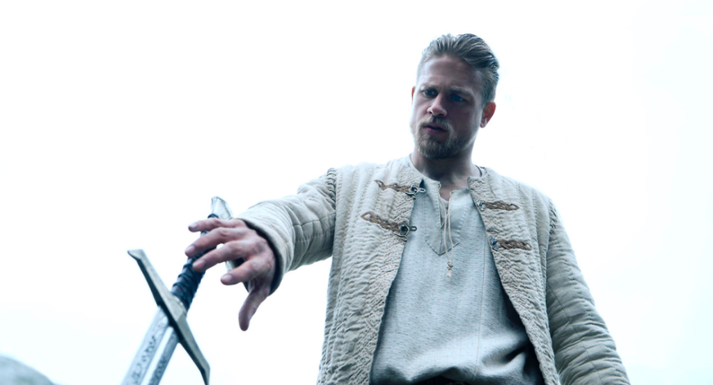 Charlie Hunnam stars in King Arthur: Legend of the Sword