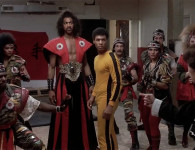 A still from The Last Dragon, 1985