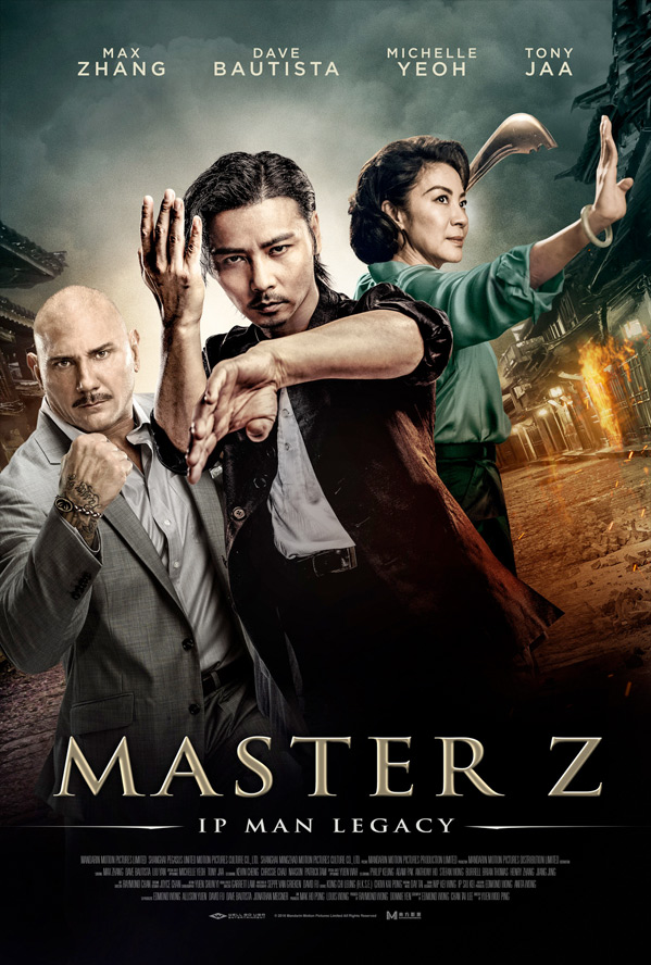Max Zhang, Michelle Yeoh, and Dave Bautista Continue the Ip