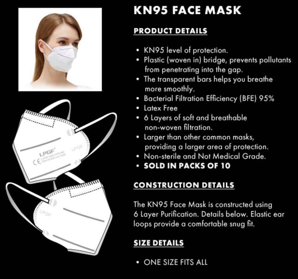 face masks for sale